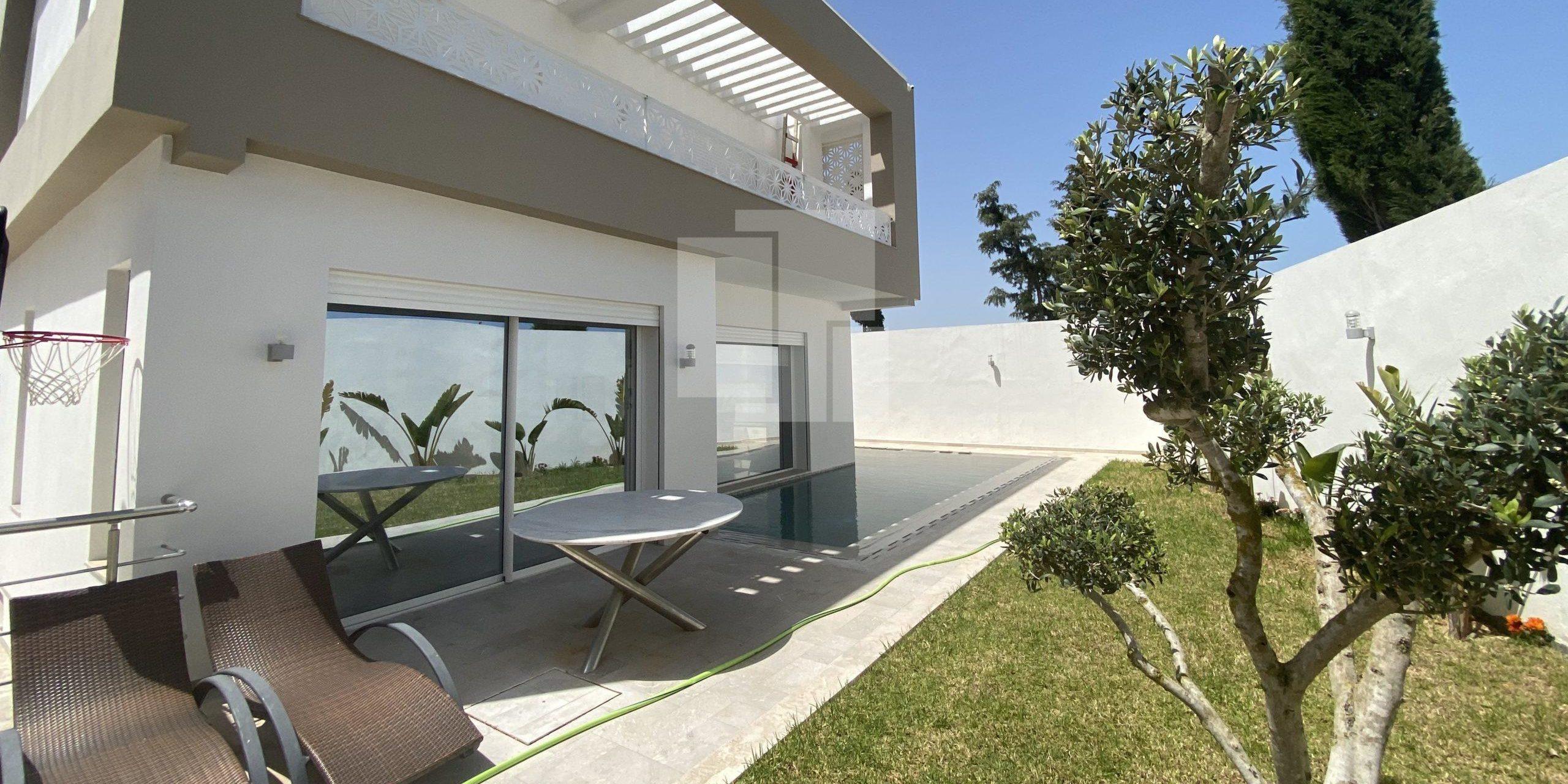 Villa nouvellement construite, La Soukra