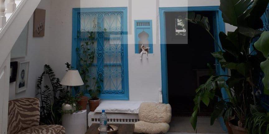 Duplex avec un patio et une terrasse, Sidi Bou Saïd
