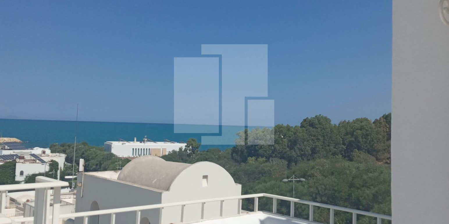 Duplex avec une vue mer, Gammarth supérieur